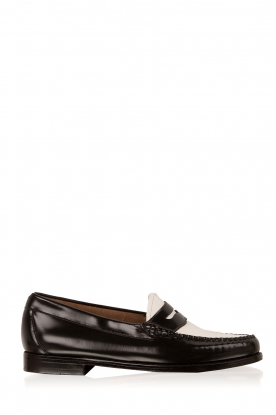 G.H. Bass & Co. | Leren loafers Weejun Penny | zwart