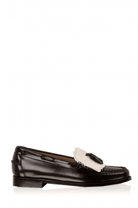 G.H. Bass & Co. | Leren loafers Weejun Esther | zwart