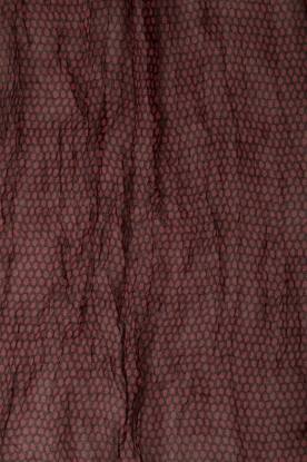 American Vintage | Sjaal Caldwell | zwart/rood