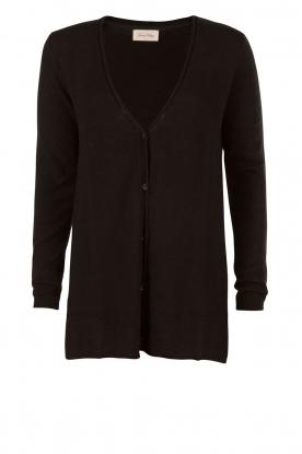Fine knit Svansky | black