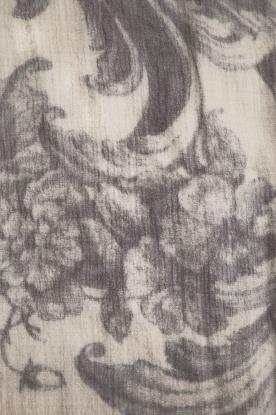I love my Moment | Fijngebreide sjaal Hally | grijs