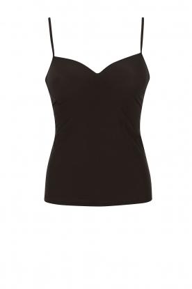 Padded bra top Allure | black