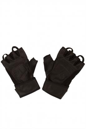 Casall | Leren Fitness Handschoenen HLS | zwart