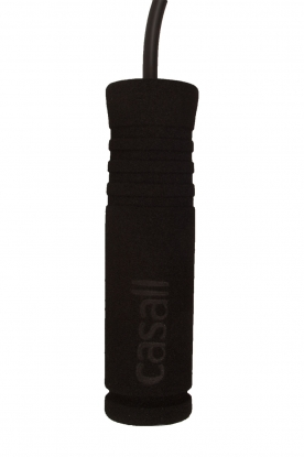Casall | Fitness springtouw Foam | zwart