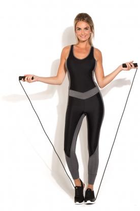Fitness springtouw Foam | zwart
