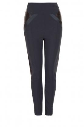 ELISABETTA FRANCHI | High waist legging Celino | donkerblauw
