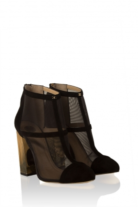 Suede ankle boots Madelay | black