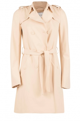 Double breasted trenchcoat Maria | nude