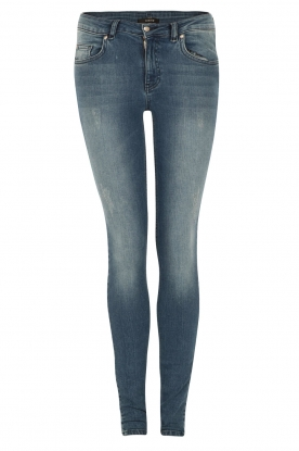 NIKKIE | 5-pocket skinny jeans Betty | blauw