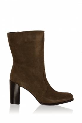 Maluo |  Suede boots Serafina | green