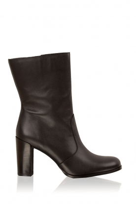 Maluo |  Leather boots Serafina | black
