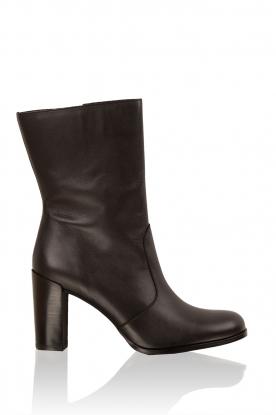 Leather boots Serafina | black