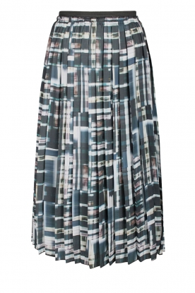Dante 6 |  Pleated skirt Olexa | print