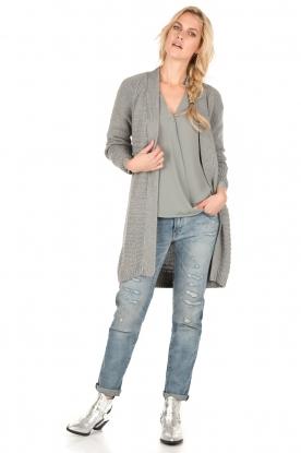 Denham | Tapered fit jeans Monroe | blauw