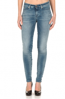 Denham | Super tight skinny jeans Spray | blauw