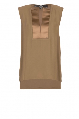 ELISABETTA FRANCHI | Top Superbo | khaki