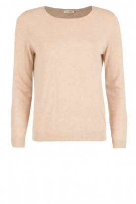 American Vintage |  Fine knitted sweater Blossom | nude