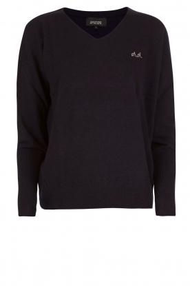 Woolen Sweater Dago | Dark blue