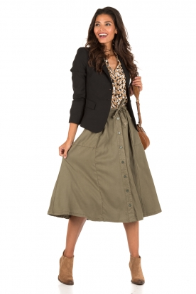 Button-up rok Sesto | groen