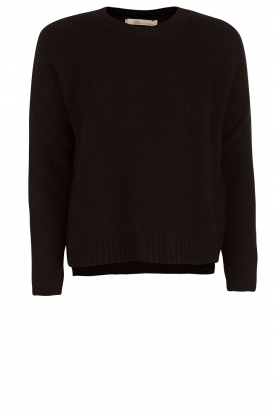 Knitted sweater Agata | black