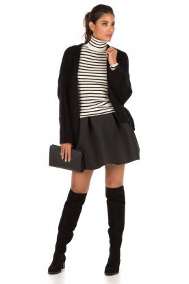 A-lijn rok Suzan | zwart