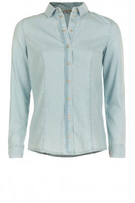 Patrizia Pepe | Spijkerblouse Camicia | Blauw
