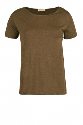 American Vintage |  Round neck T-shirt Jacksonville | green