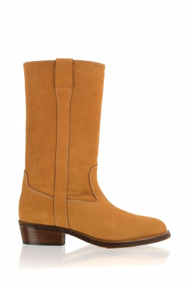 Maluo |  Leather ankle boots Nobuck | brown