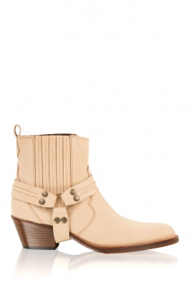 Maluo |  Leather ankle boots Mason | camel