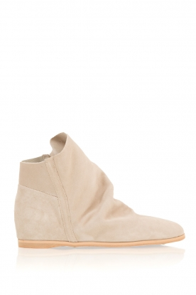 Maluo |  Suede wedge boots Camoscio |  taupe