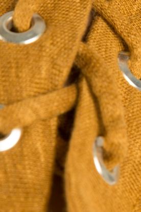 IRO | Linnen lace-up top Ibex | camel