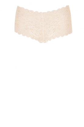 Hanro |  Lace hipster Moments | light beige