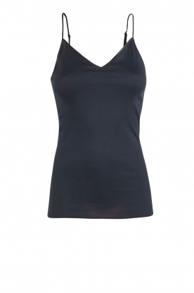 Hanro |  Seamless top Hanna |  dark blue