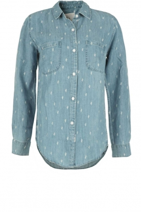 RAILS | Denim blouse Carter Cactus | blauw