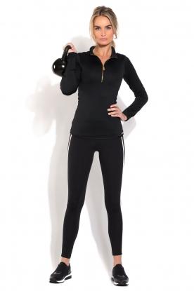 Deblon Sports | Sportlegging Kate | Zwartwit