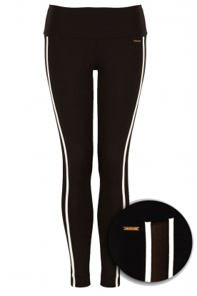 Deblon Sports |  Sports legging | Black & White