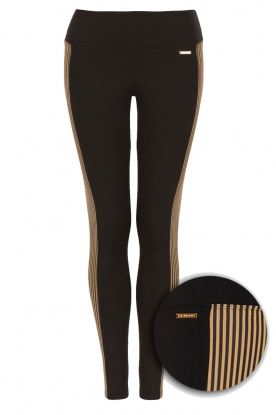Deblon Sports |  Sports legging Isabel | camel/black