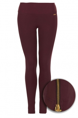 Deblon Sports |  Sports legging Ruby | Bordeaux