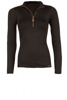 Deblon Sports |  Longsleeve top Rosy | Black