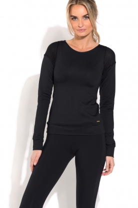 Deblon Sports | Longsleeve top Liv | zwart
