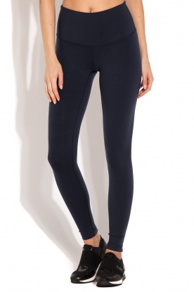 Beta Studios | Sportlegging Zipper | donkerblauw