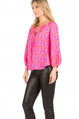 Alice & Trixie | Zijden blouse Ashley | roze