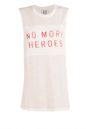 Zoe Karssen | Tanktop Heroes | wit