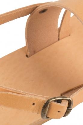 Nulla Nomen | Leren sandalen Gratia | camel
