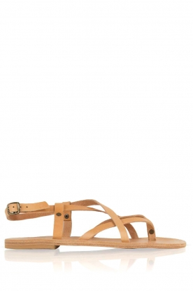 Nulla Nomen |  Leather sandals Lua | camel