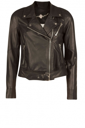 Dante 6 |  Leather biker jacket Legend | black