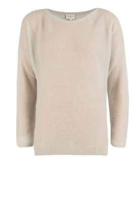 Dante 6 |  Knitted sweater Erin | light blue