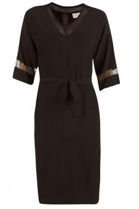 Dante 6 |  Dress with see-through details Embrun  black