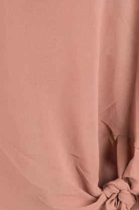 Dante 6 | Blouse met knoopdetail Gail | oudroze