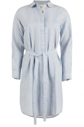 Leon & Harper |  Blouse dress Rolita | light blue